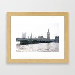 The parliament II Framed Art Print