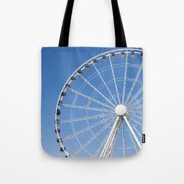 Seattle Great Wheel Tote Bag