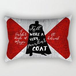 Kell's Peculiar Coat - A Darker Shade of Magic Rectangular Pillow