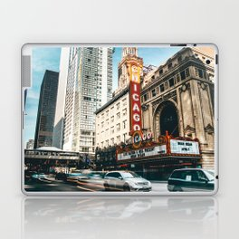 chicago strret Laptop & iPad Skin