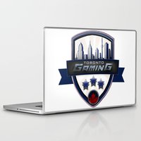 gaming Laptop & iPad Skins featuring Toronto Gaming by rramrattan