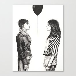 The Kills / Farewell my black balloon Canvas Print