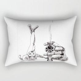 Smoking Gun Rectangular Pillow