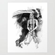 IGGY POP by carographic, Carolyn Mielke Art Print