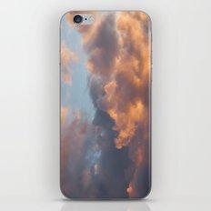 Peach Clouds iPhone & iPod Skin
