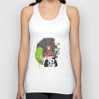 2001 Tank Tops featuring Poker 2001 by Ukko