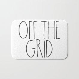 Off the Grid Bath Mat