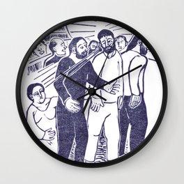 Jesus Heals Wall Clock