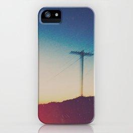 roadside views iPhone Case