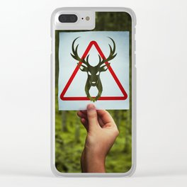 stop poaching Clear iPhone Case