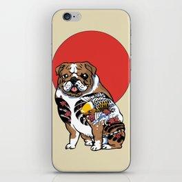 Yakuza English Bulldog iPhone Skin