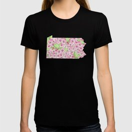 Pennsylvania in Flowers T-shirt