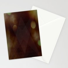 Bokeh Triangle Stationery Cards