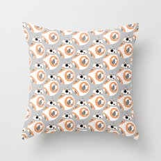 BB-8 Pattern Throw Pillow