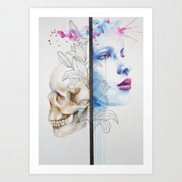 Jay Freestyle - Duality Art Print