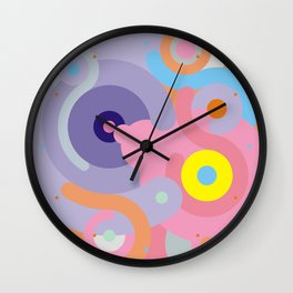 Modern Baroque Wall Clock