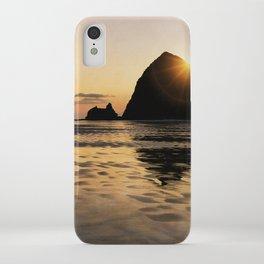 Cannon Beach haystack iPhone Case