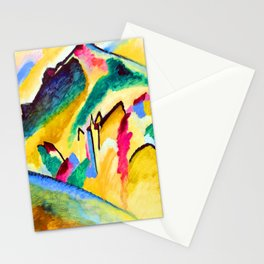 Wassily Kandinsky Autumn Landscape Stationery Cards