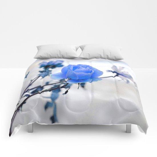 Blue Rose Simplicity Comforters