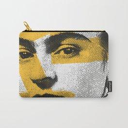 "Frida Kahlo - ""Vissi d'Arte"" Collection - Art Print Carry-All Pouch"