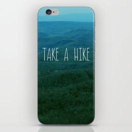 Take A Hike iPhone Skin