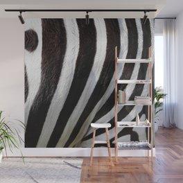 """Pop Safari 01 Zebra"" Wall Mural"