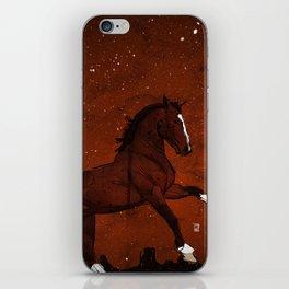 Brown Horse iPhone Skin
