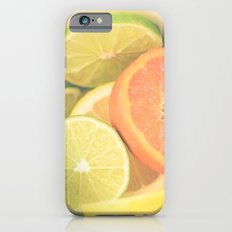 Citrus on White Slim Case iPhone 6s