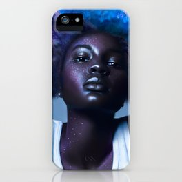 she owns the stars iPhone Case