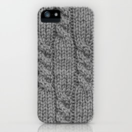 Knitting_031_by_JAMFoto iPhone Case