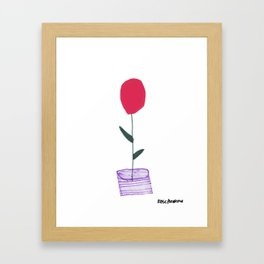 Flower 11 Framed Art Print