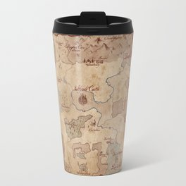 Map of Hyrule- Legend of Zelda Travel Mug