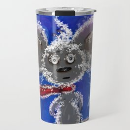 "Christmas little mouse ""Snowflake"" Travel Mug"