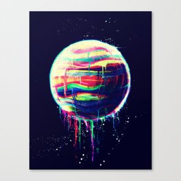 Deliquesce Canvas Print