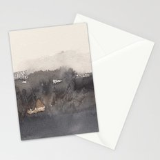 November morning 4 Stationery Cards