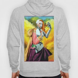 An Android in Nature Hoody