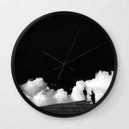 Cloudy Copenhagen Wall Clock