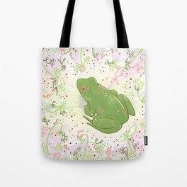 Little Frog Tote Bag