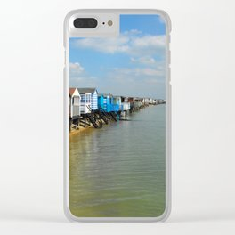 Stairs to sea Clear iPhone Case