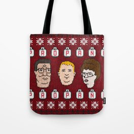 King of the Sweater Tote Bag