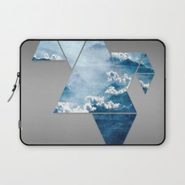 Fragmented Clouds Laptop Sleeve