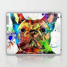 French Bulldog Grunge Laptop & iPad Skin