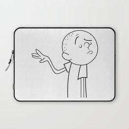 Karl Pilkington Laptop Sleeve