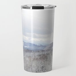 Winter in Transylvania Travel Mug