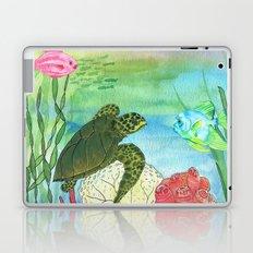 Sea Turtle Shores Laptop & iPad Skin