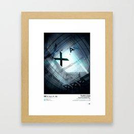 Typoera Framed Art Print