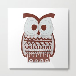 Dawson Owl Metal Print