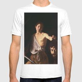 Michelangelo Merisi da Caravaggio - David with the Head of Goliath T-shirt