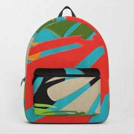 Monstera Leaves Backpack