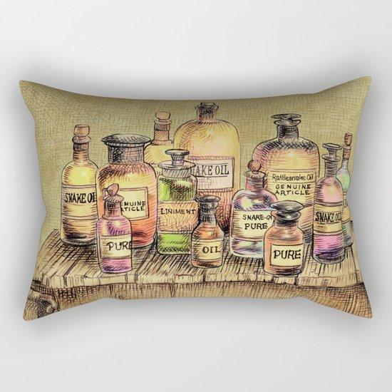 Snake Oil Rectangular Pillow